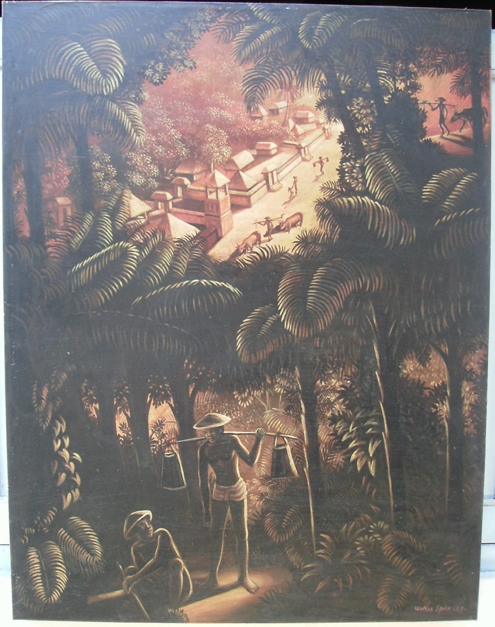 Indonesian paintings wholesale painting canvas large for Fine art gallery online